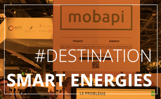 Retrouvez Mobapi au salon Smart Energies